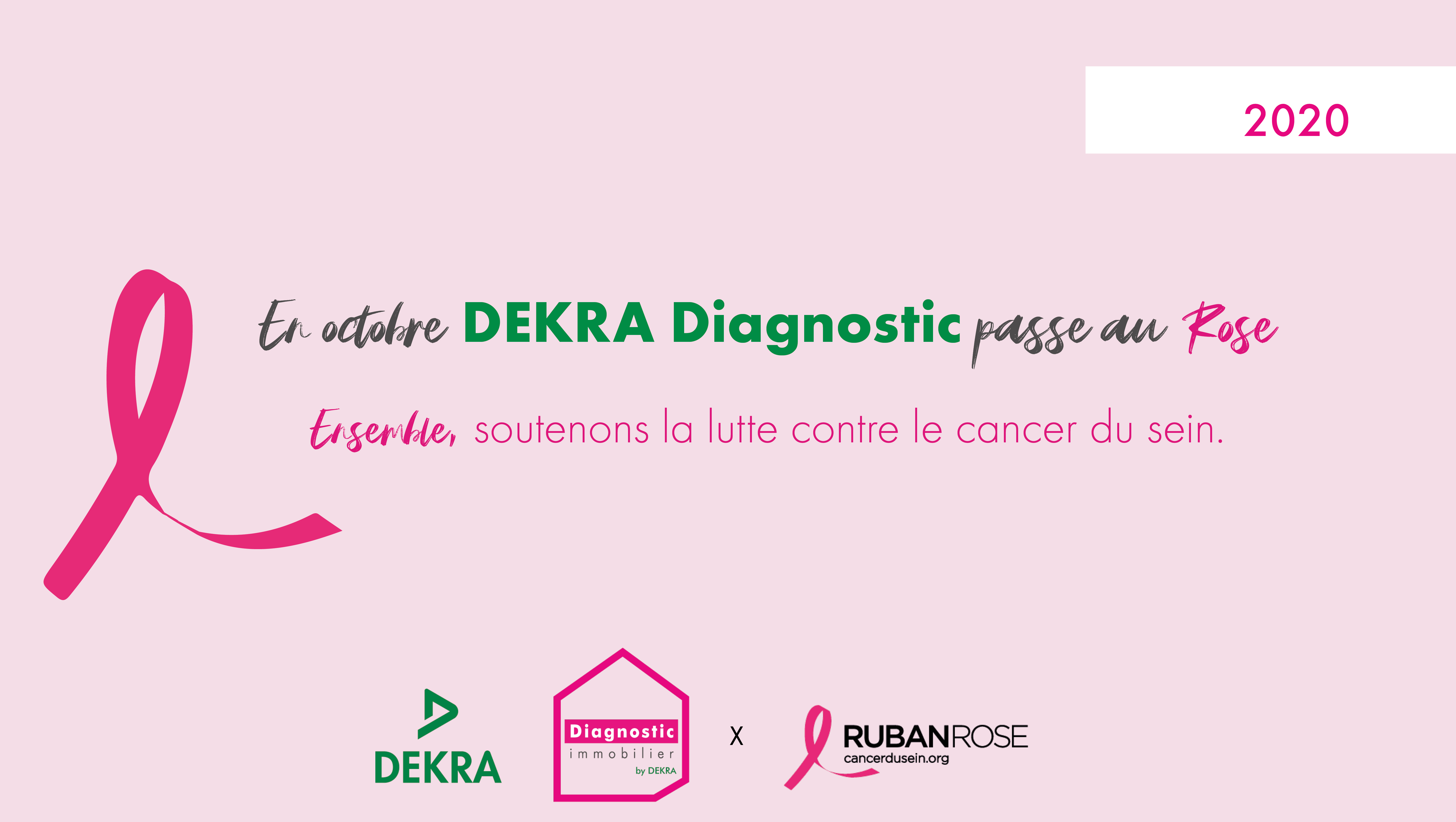 DEKRA Diagnostic x Ruban Rose